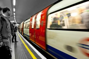 Tube in London