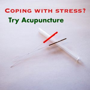 coping with stress acupuncture