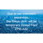 temporary closing